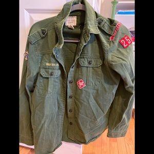 Army Green Troop Jacket
